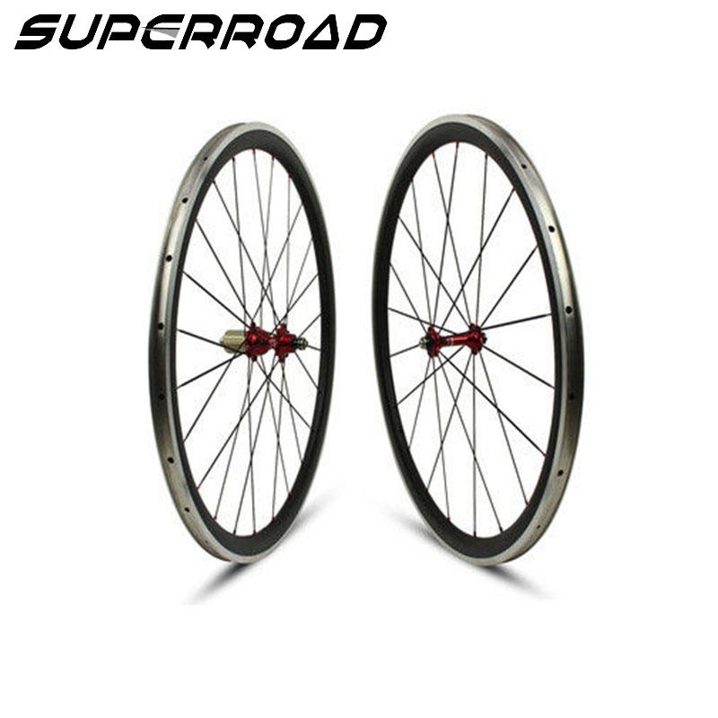 23mm clincher road wheels