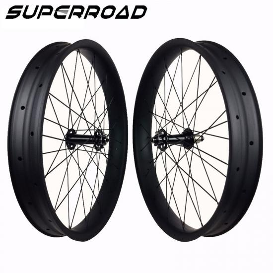 carbon fiber fat bike wheels