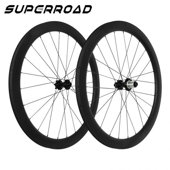 Disc Brake Carbon Wheels,700C Disc Brake Wheels,50mm Clincher Wheels